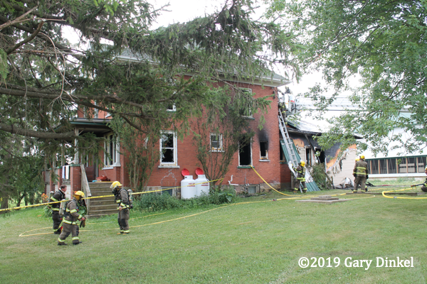 house fire in Canada