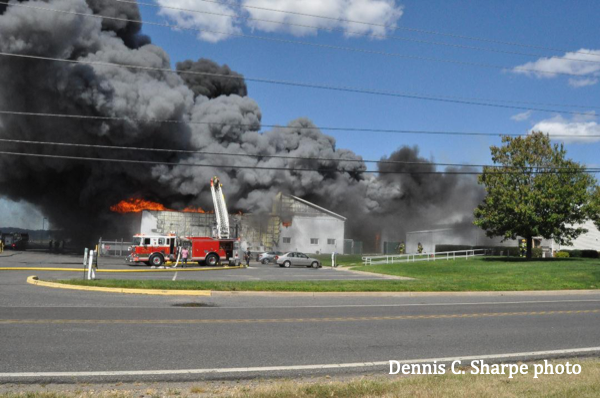 Massive fire destroys F&S Produce in Rosenhayn, NJ
