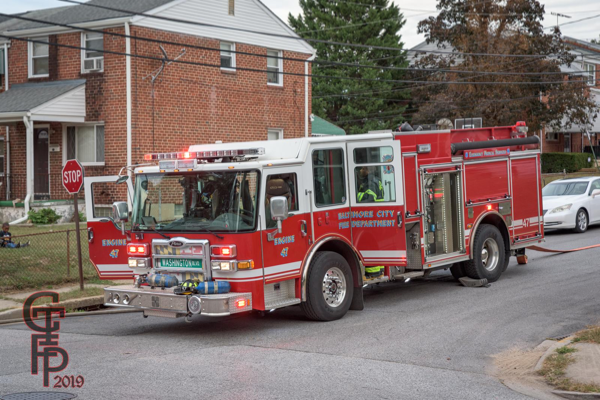 Baltimore FD Engine 47