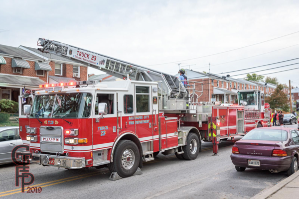 Baltimore City FD Truck 23