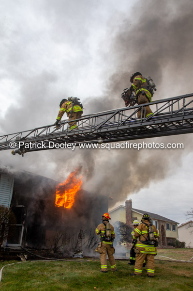 2-Alarm house fire in East hartford CT