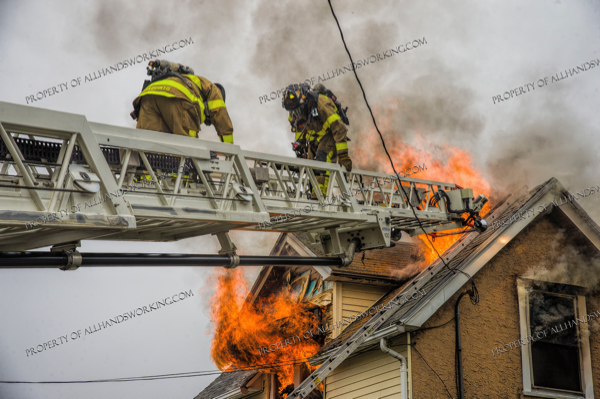 2 Alarm fire in West Haven CT