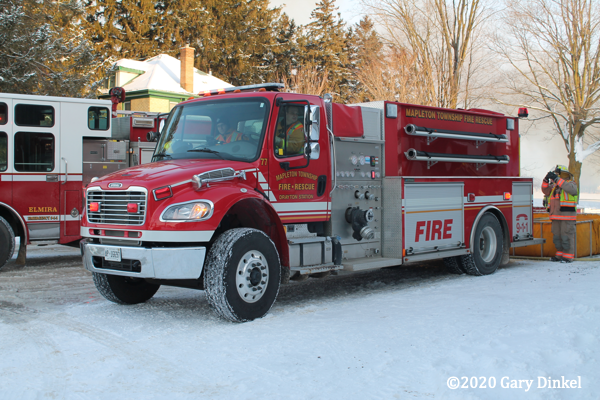 Freightiner fire truck in Canada