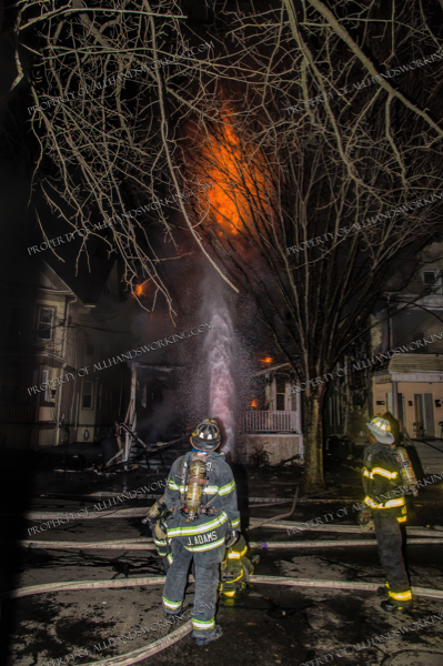 2-Alarm fire in New Haven CT