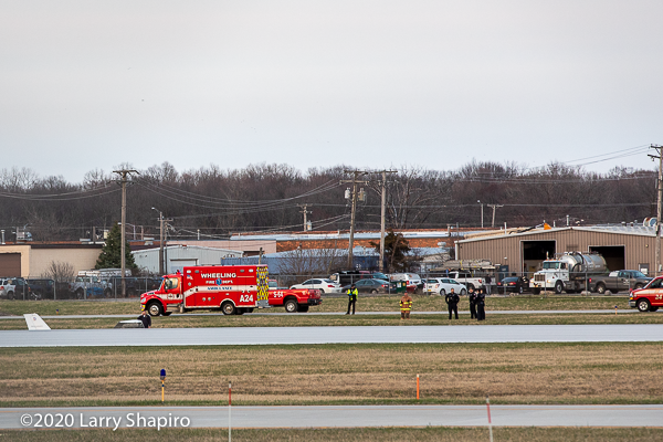 plane skids off the runway at Chicago Executive Airport