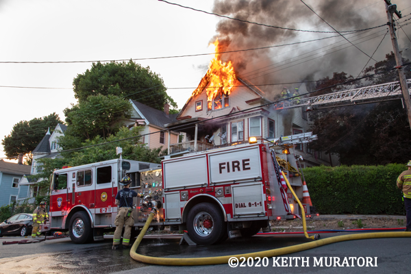 house fire in Waterbury CT 6/20/20