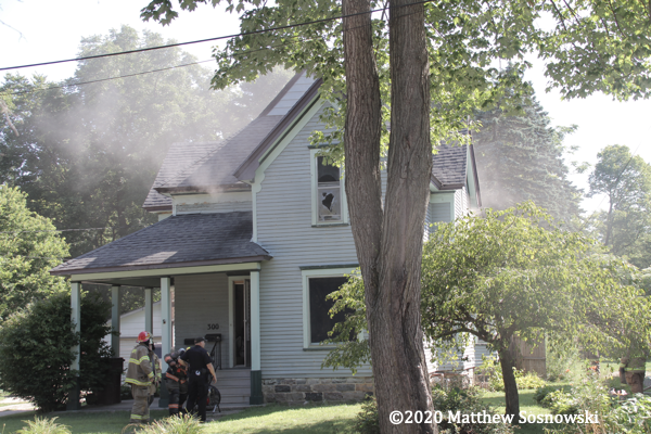 house fire in Union City MI