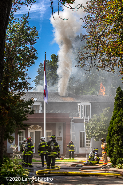 Fire at the Indonesian Consulate General's residence in Winnetka