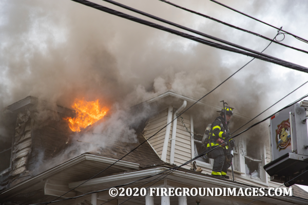 2-Alarm fire in Bridgeport CT