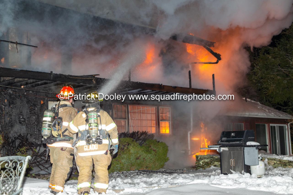 2-Alarm house fire in Somers CT