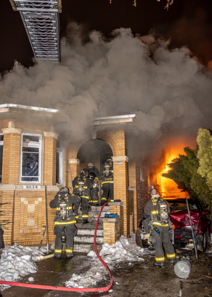double fatal fire in Chicago