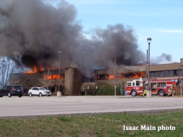 major fire in Cedar Rapids