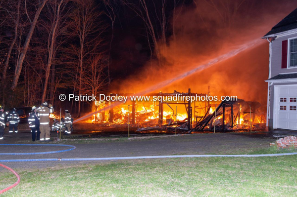 2-Alarm fire in Portland CT