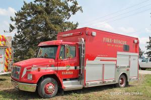 Elmore fire station rescue squad