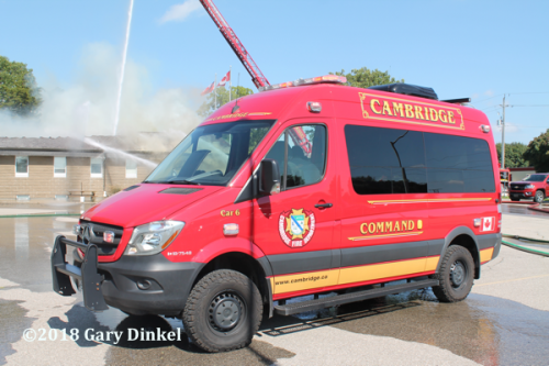 Cambridge FD Command unit