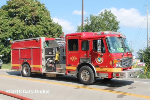 Cambridge FD Pump 5 American LaFrance Eagle