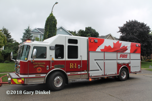 Kitchener FD Rescue 1 KME
